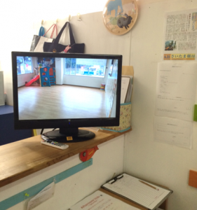 Classroom video monitor